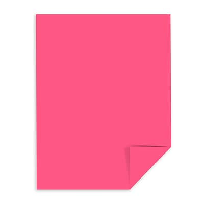Astrobrights Color Paper, 8.5 x 11, 24 lb./89 gsm, Plasma Pink, 500 Sheets/Pack (22119)