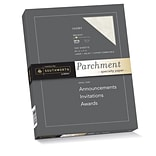 Southworth Parchment Specialty Paper 8.5 x 11 24 lb. Ivory, 100 Sheets/Box (P984CK)