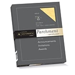 Southworth Parchment Specialty Paper 8.5 x 11 24 lb. Gold, 100 Sheets/Box (P994CK)
