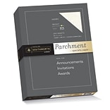 Southworth Parchment Specialty Paper 8.5 x 11 32 lb. Ivory, 250 Sheets/Box (J988C)