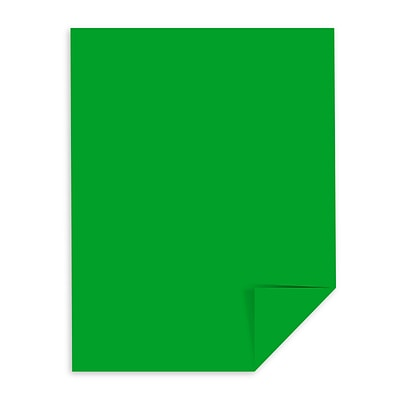Astrobrights Colored Cardstock, 8.5 x 11, 65 lb./176 gsm, Gamma Green, 250 Sheets/Pack (22741)