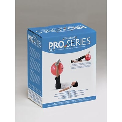 Hygienic/Theraband Pro Series SCP Ball for Body Height 51-56 (155-168cm), 55cm, Red (23025)