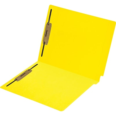Medical Arts Press® Colored End-Tab File Folders; 11 pt., 2 Fasteners, 50/Box
