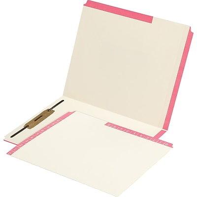 Medical Arts Press® Smead® Compatible Color-Coded Combination Folders; Position 3 Fastener