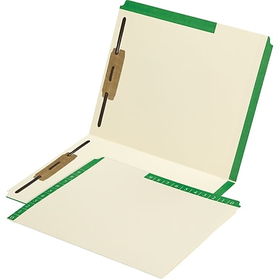 Medical Arts Press® Smead® Compatible Color-Coded Combination Folders; Positions 1 and 3 Fasteners