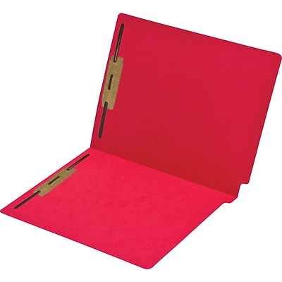 Medical Arts Press® Economy Colored End-Tab Folders; Positions 1 and 3 Fasteners