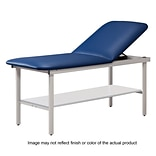 Clinton Industries 27 Treatment Table with Steel Frame/Shelf, Slate Blue