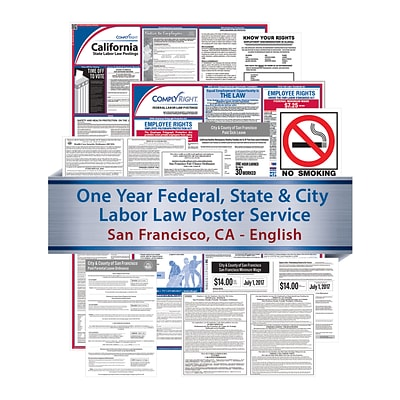 ComplyRight Federal, State & City (English) Subscription Service, San Francisco, CA