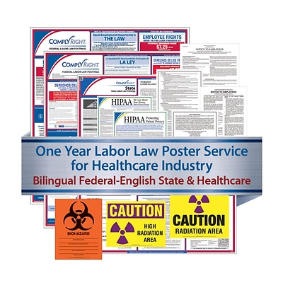 ComplyRight Federal (Bilingual), State & Healthcare (English) - Subscription Service, Alaska