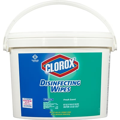 Clorox Commercial Solutions Clorox Disinfecting Wipes, Fresh Scent - 700 Wipes (31547)