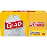 Glad® Tall Kitchen Quick-Tie® Trash Bags, 1...
