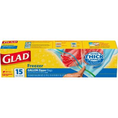 Glad(r) Freezer Zipper Gallon 12/15CT