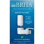 Brita® On Tap Faucet Water Filter System Replacement Filters, White, 1 CountWhite