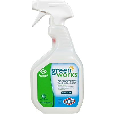 Clorox® Green Works® Glass and Surface Cleaner, Original Scent, 32 oz.