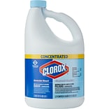 Clorox Commercial Solutions Clorox Germicidal Bleach, Concentrated, 121 Ounces (30966)