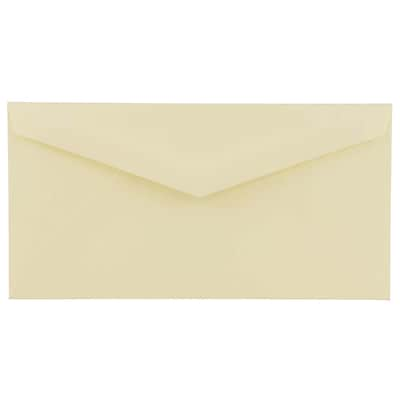 JAM Paper® 4.5 x 8.125 Booklet Envelopes, Ivory, 250/box (4093016H)