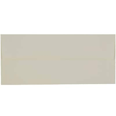 JAM Paper® #10 Business Envelopes, 4 1/8 x 9 1/2, Strathmore Natural White Laid, 500/box (70746H)
