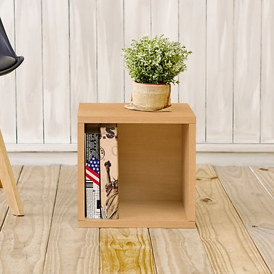 Way Basics zBoard Paperboard Storage Cube, Natural