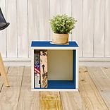 Way Basics zBoard Paperboard Storage Cube, Blue