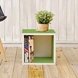 Way Basics zBoard Paperboard Storage Cube, Green