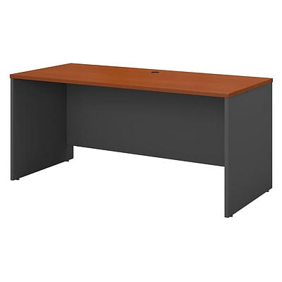 Bush Business Furniture Westfield 60W x 24D Credenza Desk, Auburn Maple (WC48561)
