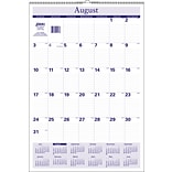 2018-2019 Quill Brand® Academic 17 Monthly Wall Calendar 22 x 15 (51963-QCC)