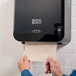 "Pacific Blue Ultra™ Mechanical Paper Towel Dispenser by GP PRO, Black, 12.6"" W x 9.3"" D by 16.7"" H ("