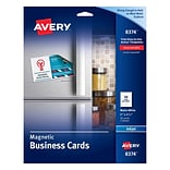 Avery®, Inkjet Magnetic Business Cards