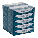 Angel Soft Ultra Professional Series® 2-Ply Facial Tissue by GP PRO, Flat Box, 125 Sheets/Box, 10 Bo
