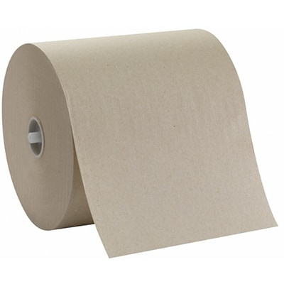 Georgia-Pacific® Sofpull® High-Capacity Hardwound Paper Towels, 1-Ply, Natural, 1,000 Ft/Roll, 6 Rolls/Carton (26480)