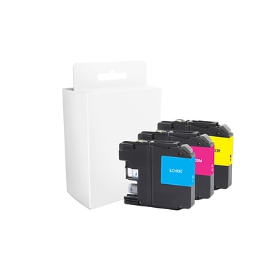 Quill Brand® Brother LC103XL Ink, Cyan/Magenta/Yellow Pack (Lifetime Warranty)
