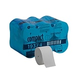Compact® Coreless 1-Ply Recycled Toilet Paper by GP PRO, 3000 Sheets/Roll, 18 Rolls (19374)