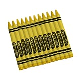 Crayola  Bulk Crayons, Yellow, 12/Box (52-0836-034)