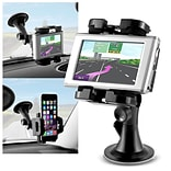Insten Universal Car GPS Cell Phone Windshield Holder Car Mount for Smartphone
