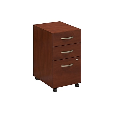 Bush Business Westfield Elite 3 Drawer Mobile Pedestal, Hansen Cherry