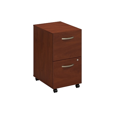 Bush Business Westfield Elite 2 Drawer Mobile Pedestal, Hansen Cherry