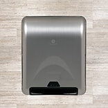 enMotion® 8 Recessed Automated Roll Towel Dispenser, Stainless Steel