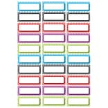 Magnetic Labels, Assorted Color Chevron