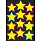 "Ashley Productions 8 1/2"" x 11"" Die-Cut Magnetic Yellow Stars, Yellow (ASH10140)"