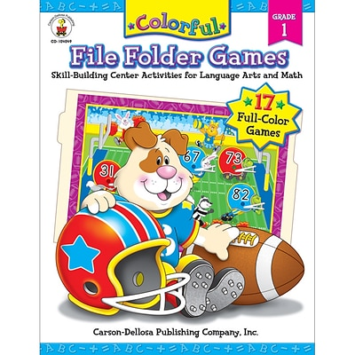 Colorful File Folder Games, Grade 1
