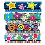 Carson Dellosa 3 x 3 Pop-Its Decorative Designs Border Set, 24 Per Pack, 32 Pack (CD-144179)