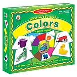 Carson-Dellosa Early Learning Games, What Do You See? (CD-3112)