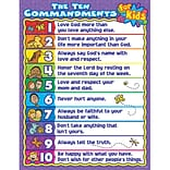 The Ten Commandments for Kids Chartlet