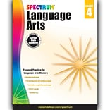 Spectrum Language Arts Workbook, Grades 4th