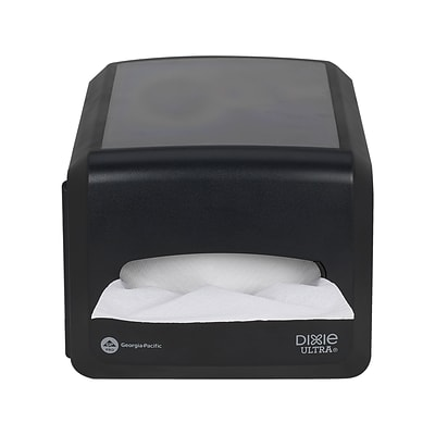 "Dixie Ultra® Countertop Interfold Napkin Dispenser by GP PRO, Black, Holds 500 Napkins, 8.20""Wx12.80""Dx6.60""H (54510A)"