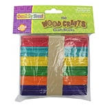 Chenille Kraft® Asst. Wooden Craft Sticks