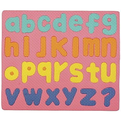 Pacon Wonder foam 9 1/2(H) x 11 1/2(W) Magnetic Lower Case Letters Puzzle (CK-4421)