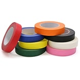 Colored Masking Tape, 8 rolls/Pk