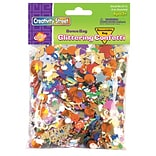 Chenille Kraft® Glittering Confetti, Assorted, 4 oz.