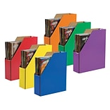 Pacon Classroom Keepers Magazine Holder, Assorted Colors, 6/Pack (PAC1327)